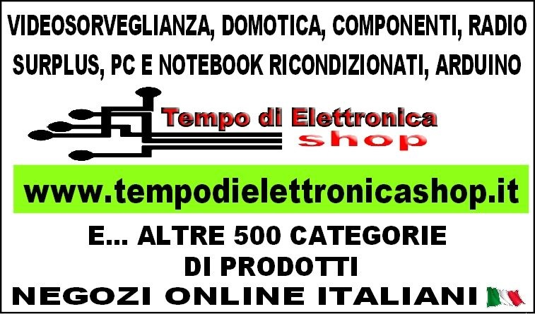 tempo di elettronica shop